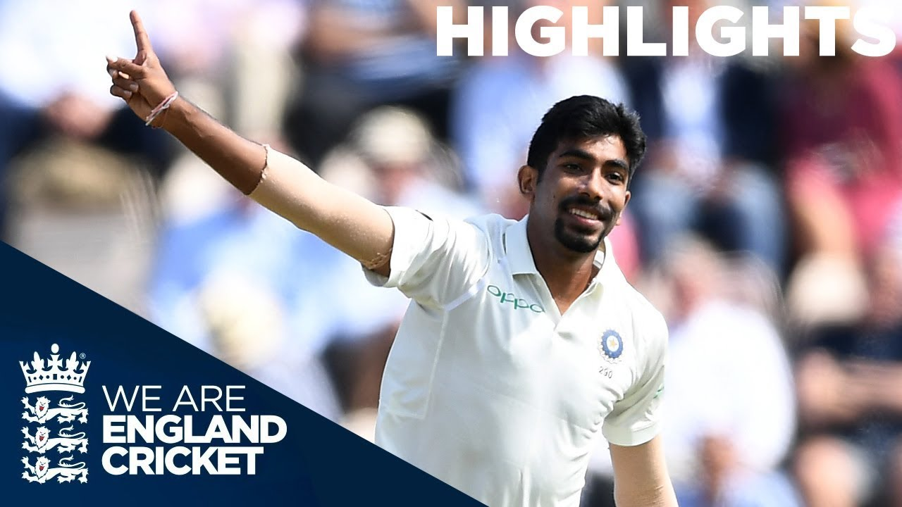 Bumrah Brilliant as Curran Gives England Hope | England v India 4th Test Day 1 2018 - Highlights