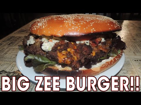 HEART ATTACK BURGER CHALLENGE IN PRAGUE!!