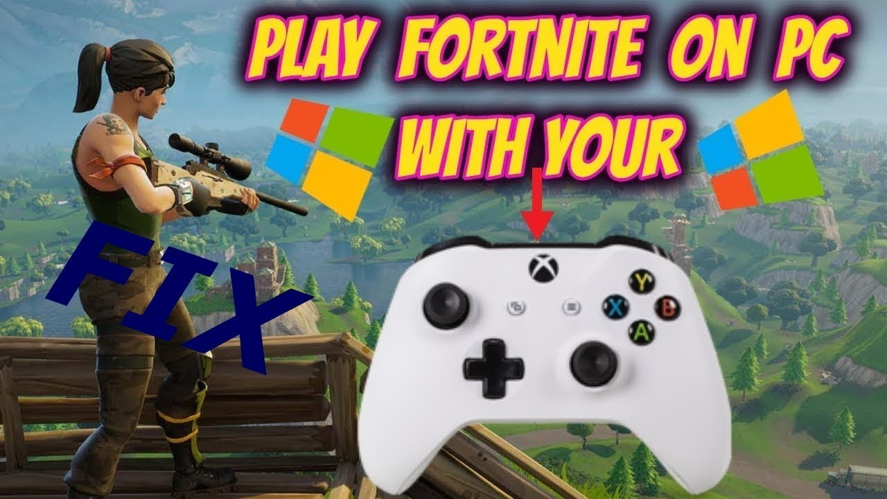 How to Fix Ps4/Xbox Controller Not Working Fortnite PC
