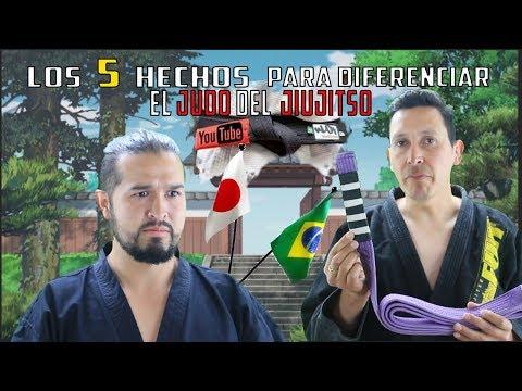Como diferenciar el judo del jiu jitsu brasileño | breve reseña historica