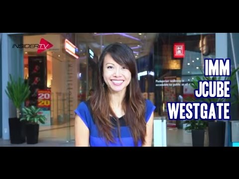 IMM-Westgate-JCube with Jamie Yeo April 2015 | Singapore