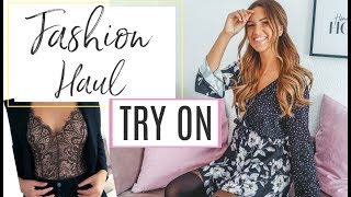 TRY ON BOOHOO FASHION HAUL 😍 | Maren Wolf