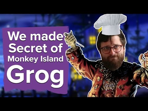 We made Secret of Monkey Island Grog