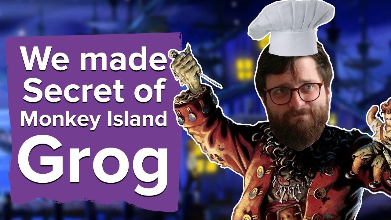 Monkey Island How To Get Grog
