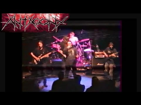 ANTAGONY - Live 2002 (Death metal, old technical death, France)