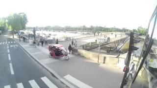 Париж (Франция) из окна экскурсионного автобуса. видео экскурсия 2(, 2016-06-30T07:25:48.000Z)