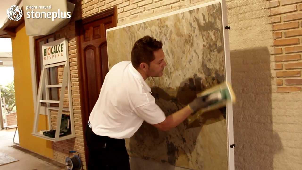Jointure de la pierre naturelle flexible stoneplus youtube for Cual es el color piedra