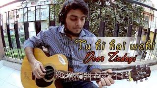 Download Hindi Video Songs - Tu hi hai wahi - Dear zindagi | Guitar cover (instrumental)