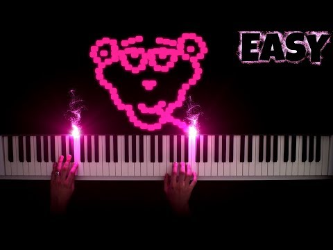 The Pink Panther Theme [Easy Piano Tutorial]