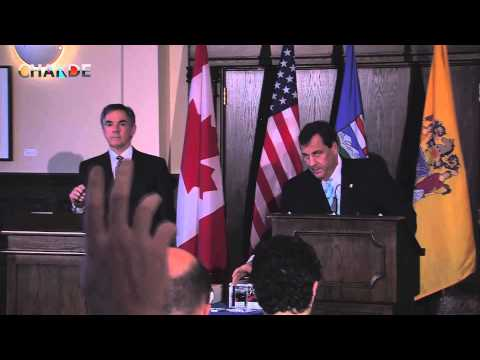 Premier Jim Prentice and New Jersey Gov. Chris Christie will held a media availability in Calgary