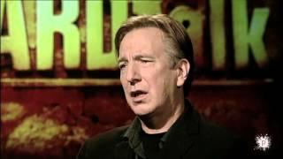 Alan Rickman on Acting