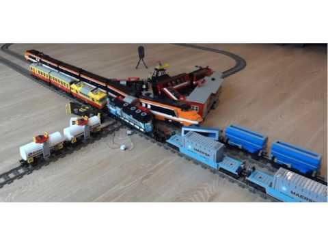 Lego Maersk Train Youtube
