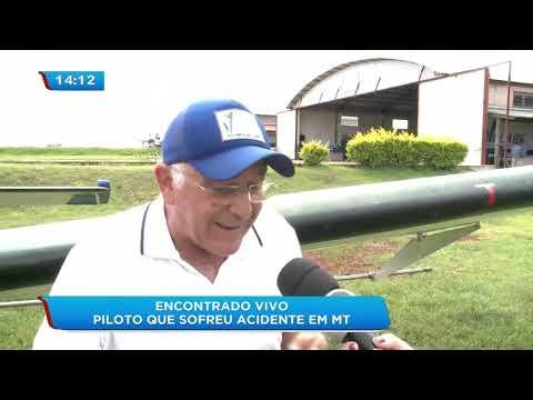 Piloto paranaense que sofreu acidente com avião em Mato Grosso é encontrado vivo