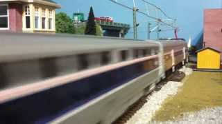 Afternoon With Amtrak on the Northeast Corridor (HO Scale)