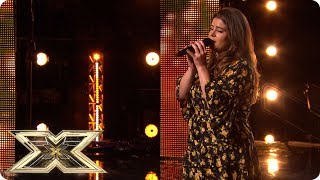Louise Setara cleans up in her X Factor Audition! | Auditions Week 4 | The X Factor UK 2018