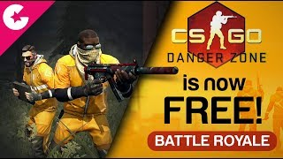 CS:GO Danger Zone (Battle Royale) - How To Download For FREE & What's New!!