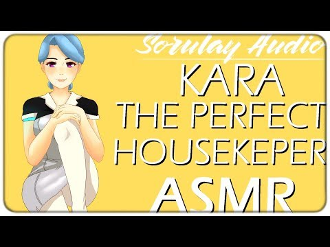 ASMR Roleplay: Kara, The Perfect Housekeeper [DBH] [Android] [Italian Accent]