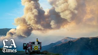 Apple fire chars over 28,000 acres, prompting new evacuations for Morongo Valley
