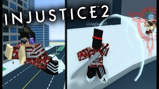 SUPERBOY IS HERE! INJUSTICE 2! ROBLOX!