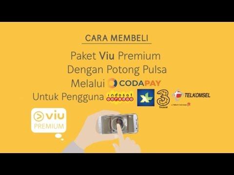 Beli paket Viu Premium dengan potong pulsa melalui Codapay #ViuingIsSharing