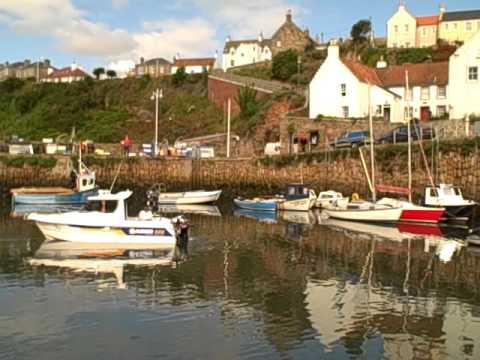 Tour Scotland Crail Harbour
