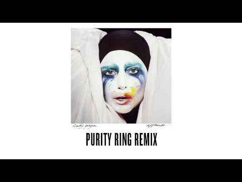 """Lady Gaga - """"Applause"""" - Purity Ring Remix"""
