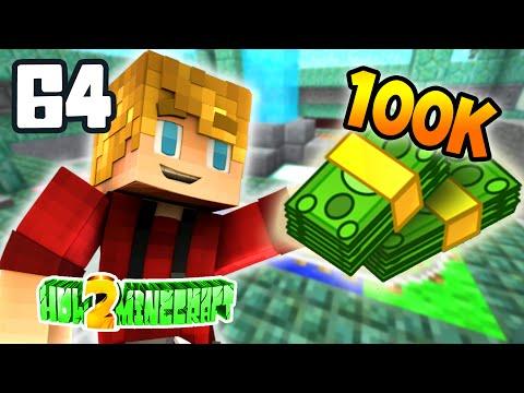 """Minecraft: How 2 Minecraft! (Season Two) """"100K BETS!"""" Episode 64 Minecraft 1.8 SMP)"""