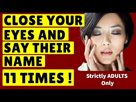 **SHOCKING**  Say Their Name 11 Times & They'll LOVE YOU FOREVER !! ❤️  Best Of All Love Spells! ❤️