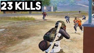 HOW TO WIN 1 VS 4!   23 KILLS Solo vs Squad   PUBG Mobile Tips