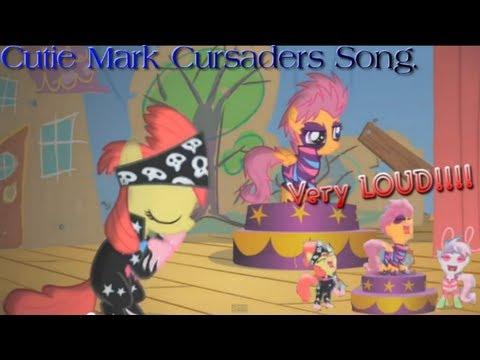 MLP : FIM - Cutie Mark Crusaders song. (HD)