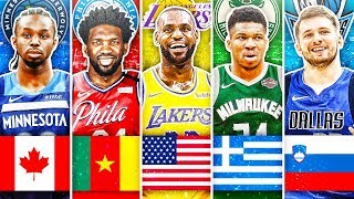 best-nba-player-from-each-country-in-2020
