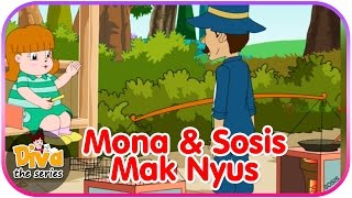Mona dan Sosis Mak Nyus | Video Lucu Diva the series | Diva The Series Official