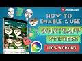 WhatsApp Stickers🔥 | How to Enable & Use WhatsApp Stickers | WhatsApp Beta Version