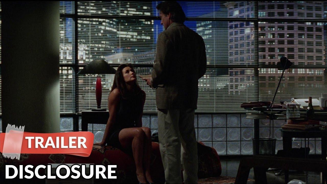 Disclosure 1994 Trailer Michael Douglas Demi Moore Youtube