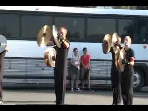 Colts 2007 Drumline 05 - Cymbals