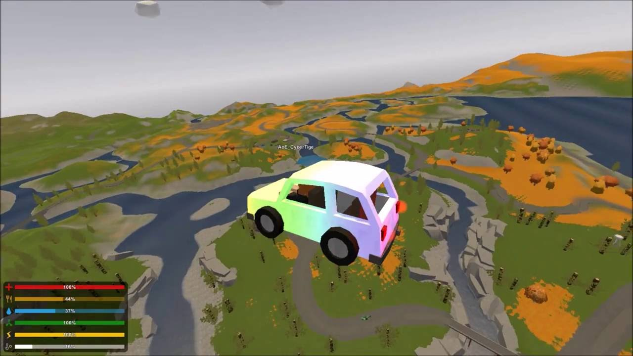 Unturned Russia Map And Flying Cars Youtube