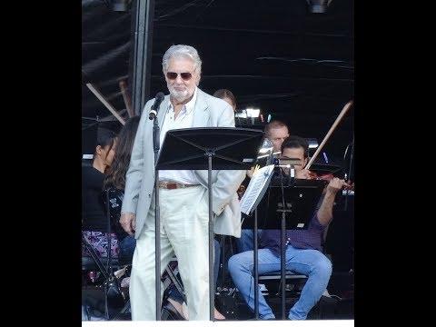 Placido Domingo Concierto Homenaje Guadalajara Laberinto de los Famosos