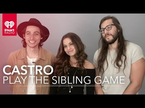 Castro Interview - Reveal Embarrassing Facts About Each Other in the Sibling Game