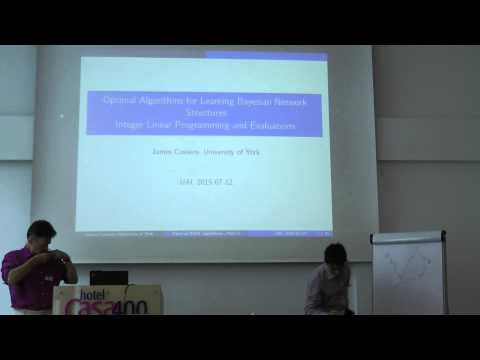 UAI 2015 Amsterdam Tutorial: Optimal Algorithms for Learning Bayesian Network Structures
