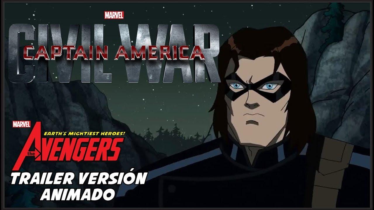 Capitn Amrica Civil War  Trailer Versin Animado en Espaol