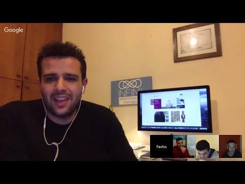 Αποκλειστική Συνέντευξη με τους Έλληνες International eCommerce Experts Γ.Δελατόλα,Χ.Μπάλα & Π.Σαρκά