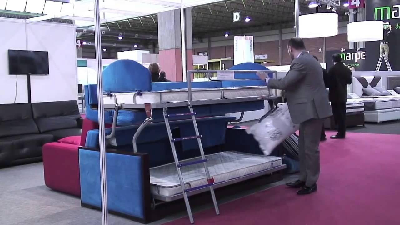 Litera sofa cama de matrimonio simple sofs estupendo del for Sofa que se hace litera