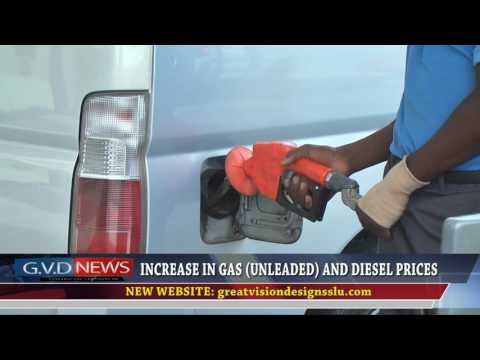 May 22nd 2017   INCREASE IN GAS (UNLEADED) AND DIESEL PRICES   Kenwin Poleon