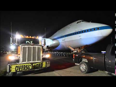Jet that hauled space shuttles being reassembled