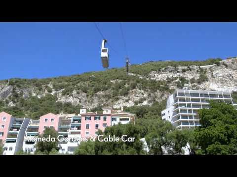 Alameda Gardens & Cable Car (Gibraltar) - Cunard