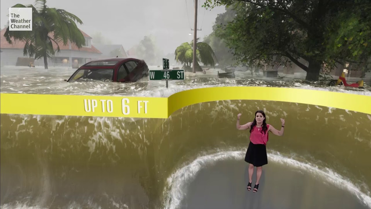 The Weather Channel Uses Animation to Show Dangers of Storm
