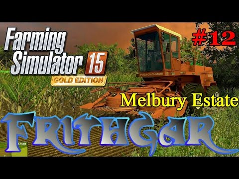 Let's Play FS15 Melbury Estate #12: The Don 680 Classic Russian Forager!