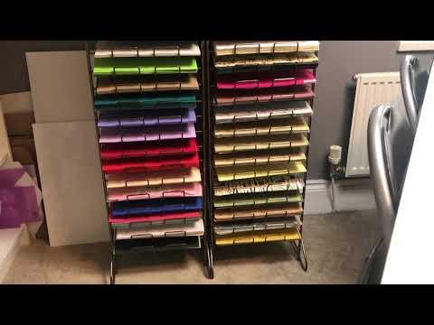 New Cardstock & Paper Storage