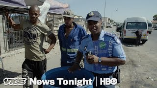 Cape Town Cops Are Punishing People For Using Too Much Water (HBO)