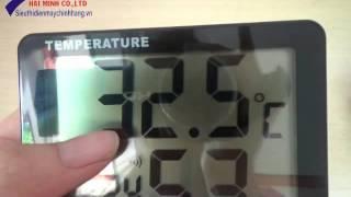 Cách sử dụng đồng hồ đo nhiệt độ độ ẩm M&MPro HTM1